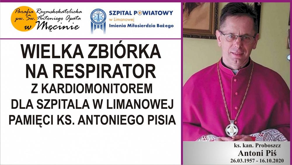 Proboszcz zmarł na Covid-19. Parafianie składają się na respirator - Zdjęcie główne