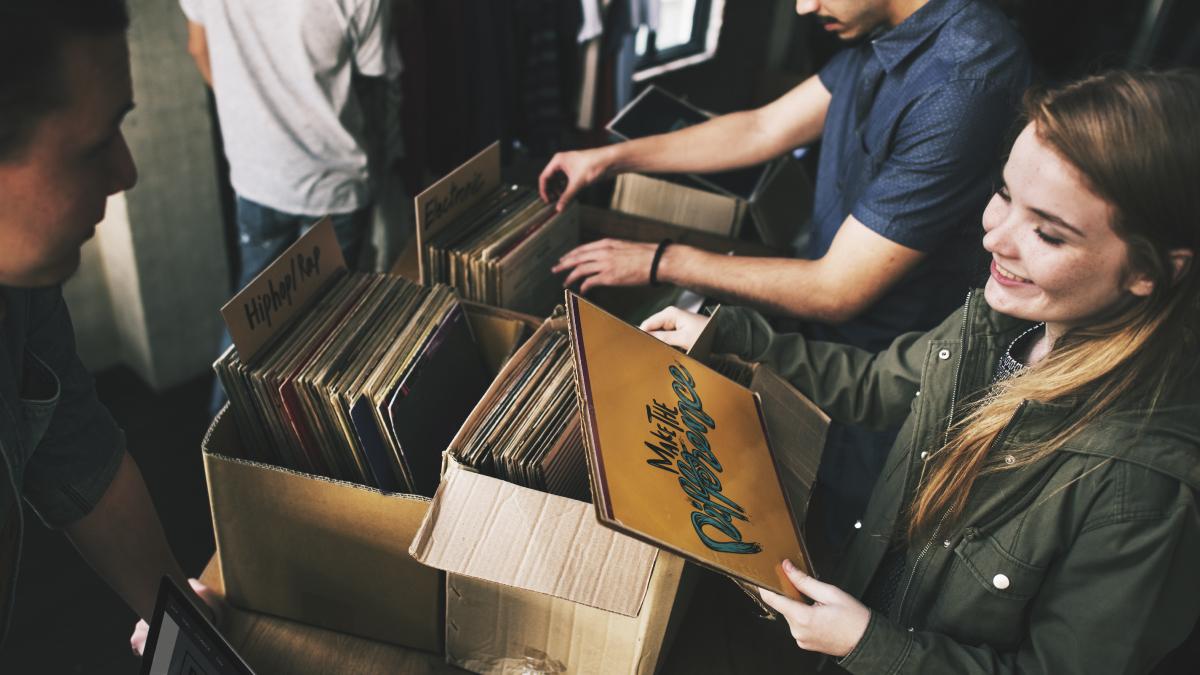 Gratka dla miłośników muzyki - giełda płyt winylowych i CD już w najbliższy weekend! - Zdjęcie główne