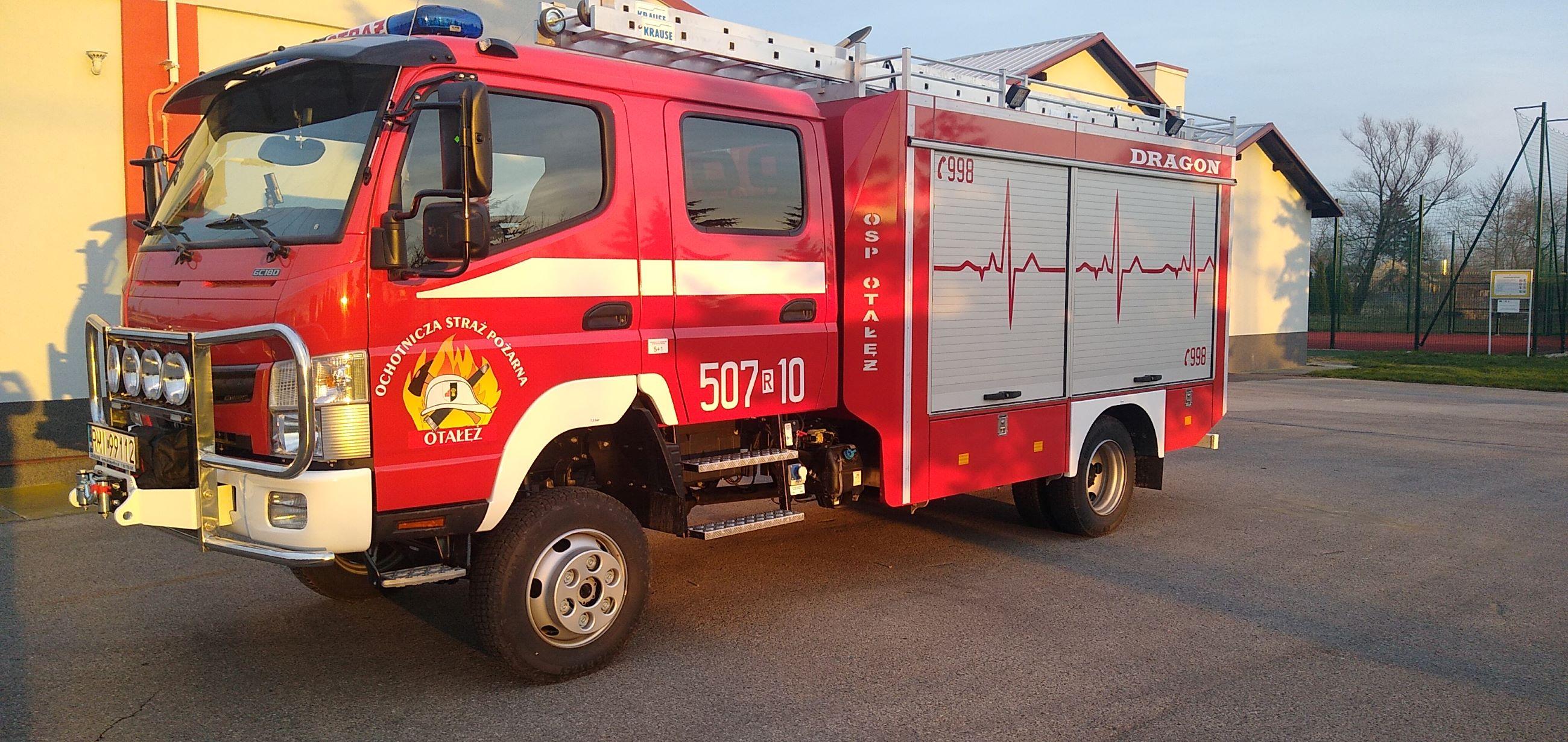 Do OSP w Otałęży trafił długo oczekiwany samochód ratowniczo-gaśniczy - Zdjęcie główne