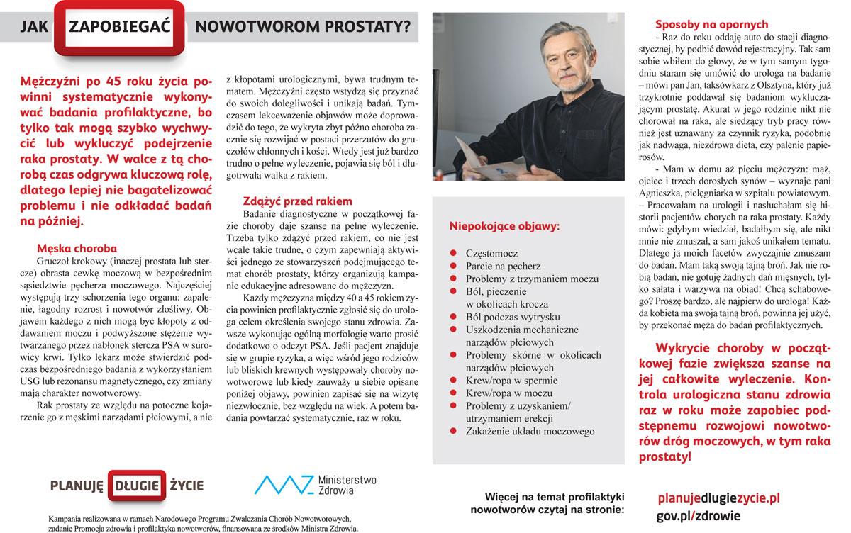 Jak zapobiegać nowotworom prostaty? - Zdjęcie główne