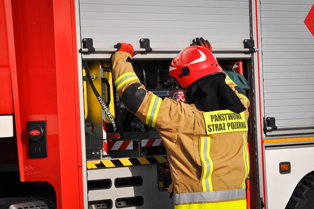 17-latek wezwał strażaków [ZDJĘCIA] - Zdjęcie główne