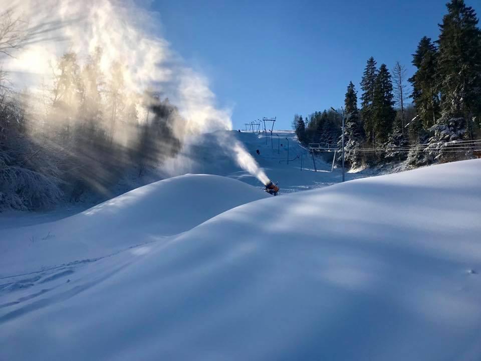 Sezon narciarski na Podkarpaciu.  Niektóre stoki już otwarte - Zdjęcie główne