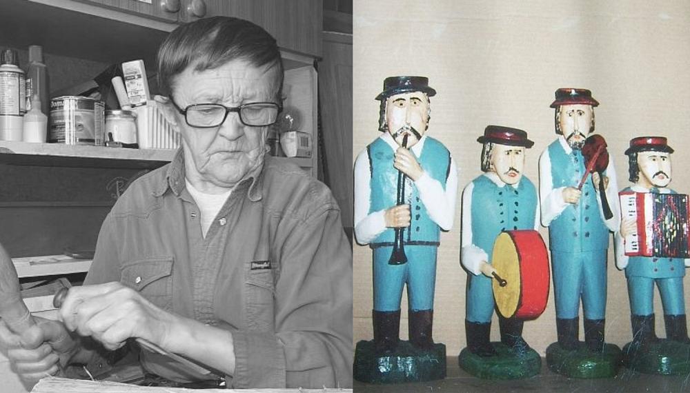 Odszedł znany rzeźbiarz: Stanisław Czarnecki - Zdjęcie główne