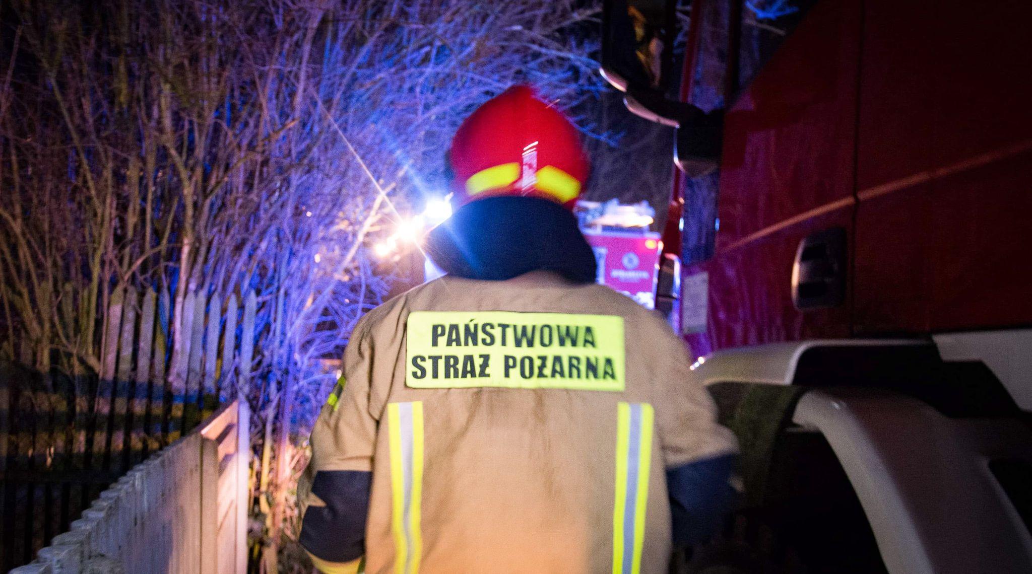 Interwencja strażaków w Tuszymie  - Zdjęcie główne