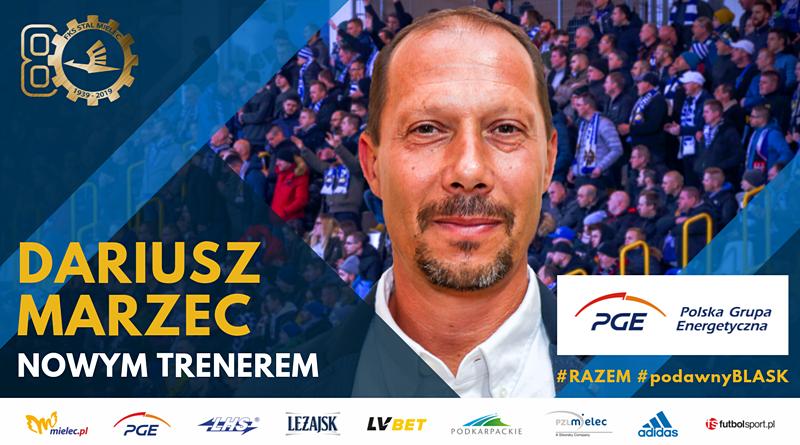 Dariusz Marzec nowym trenerem PGE FKS Stal Mielec - Zdjęcie główne
