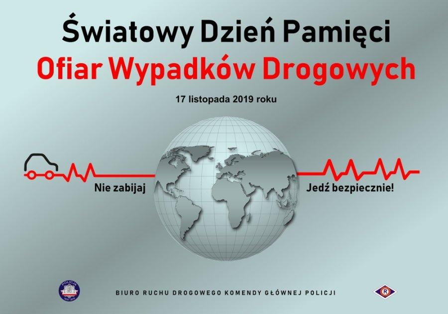 Jutro  Światowy Dzień Pamięci Ofiar Wypadków Drogowych - Zdjęcie główne