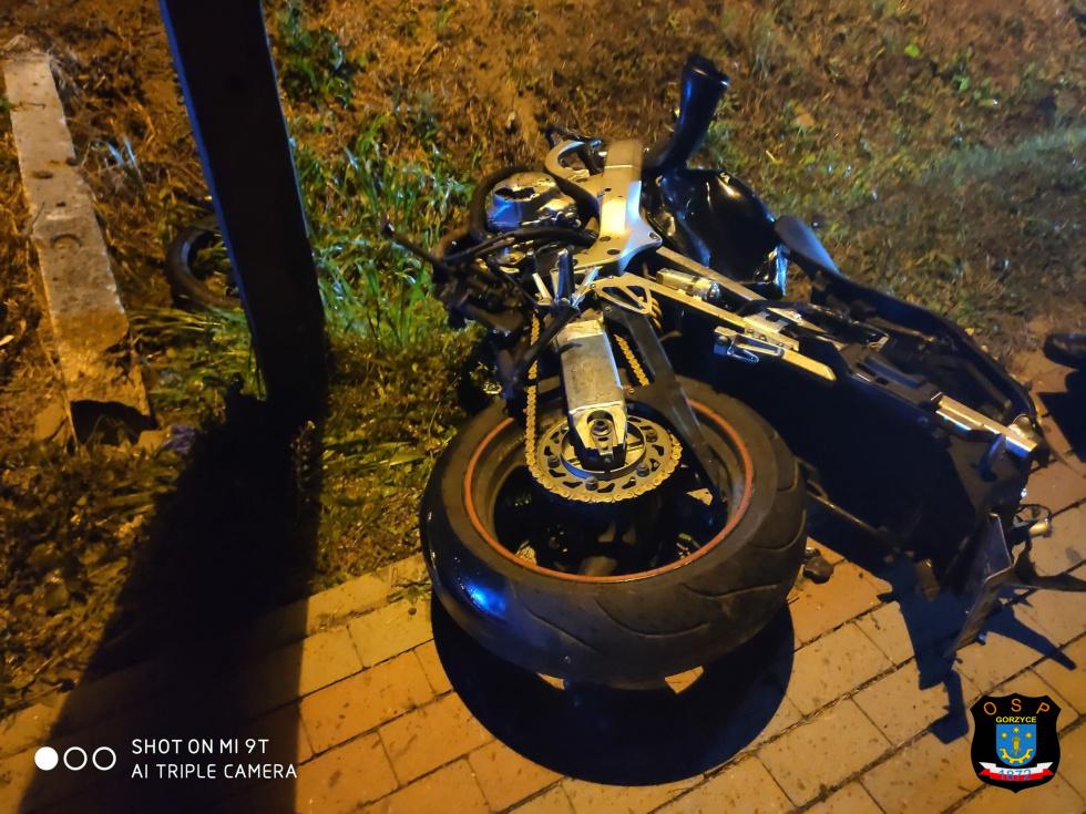 Z PODKARPACIA: Tragiczny wypadek motocyklisty! [FOTO] - Zdjęcie główne