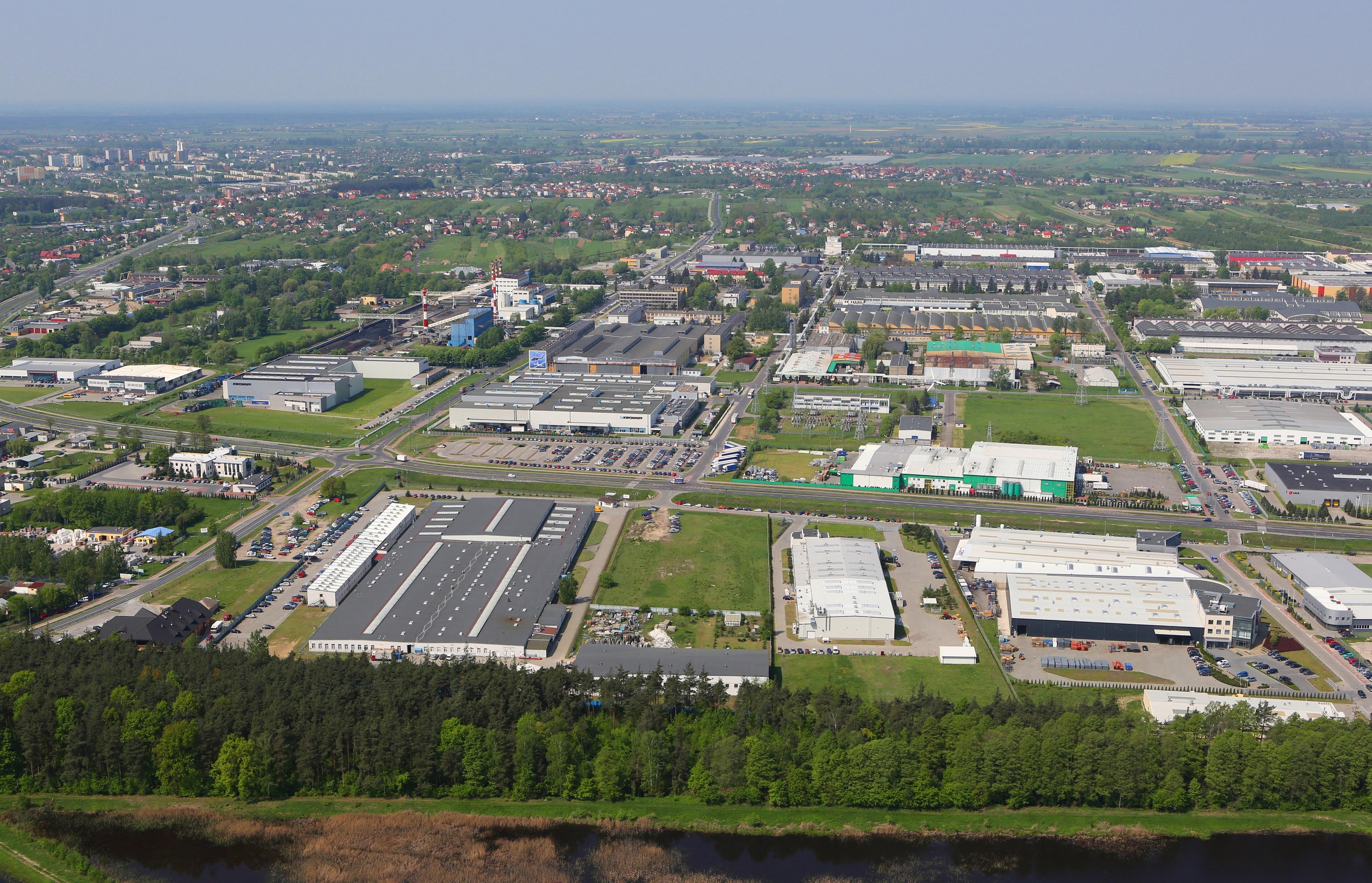 Ogólnopolski portal pisze o SSE EURO-PARK MIELEC.  Podkarpacie i Mielec nadal atrakcyjne - Zdjęcie główne