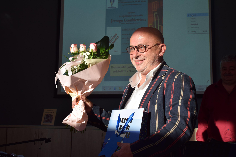 Urodzinowo na spotkaniu autorskim Jerzego Gronkiewicza [GALERIA] - Zdjęcie główne