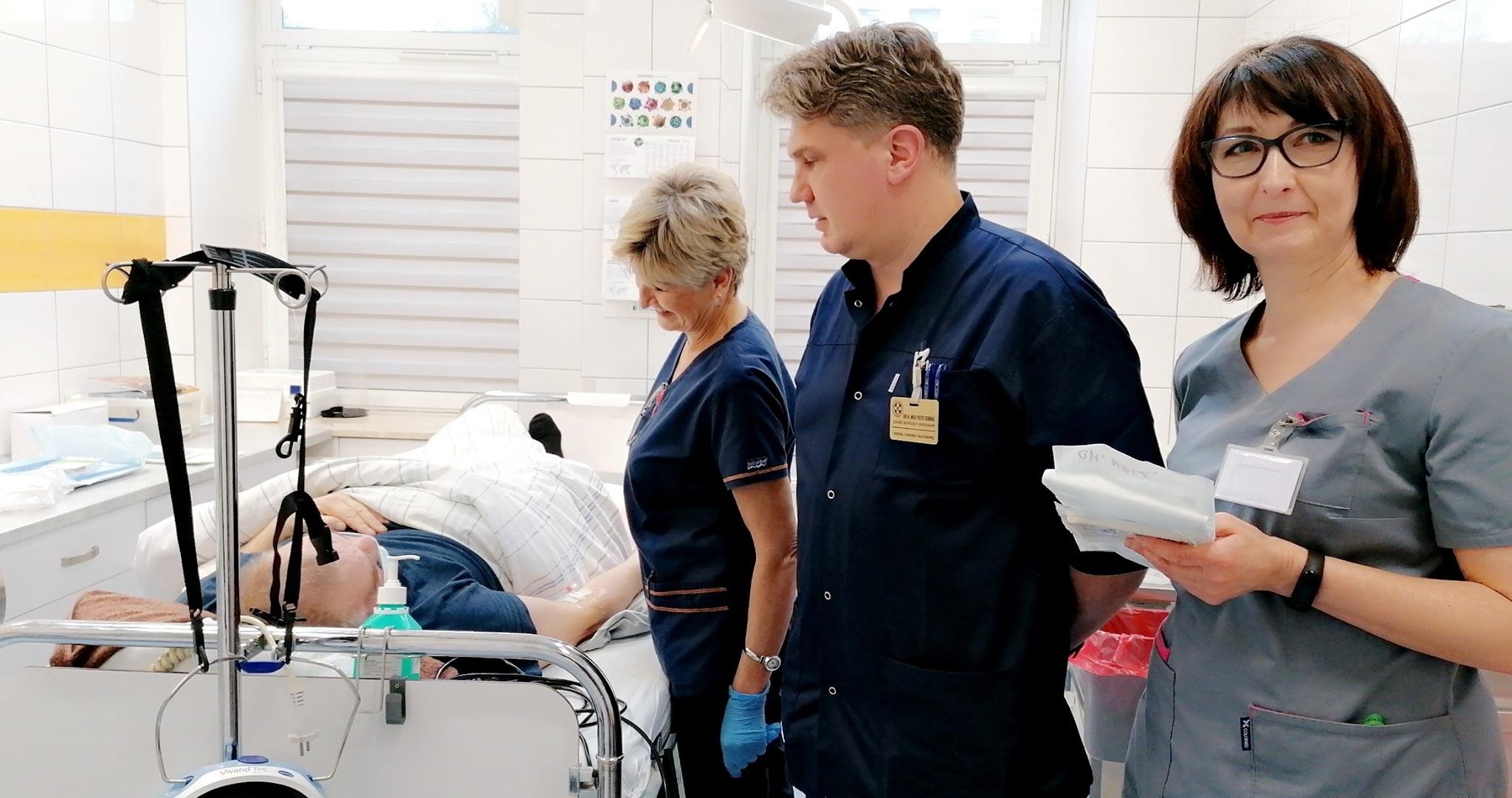Mielecki Szpital: Nowe nieinwazyjne zabiegi na chirurgii naczyniowej - Zdjęcie główne