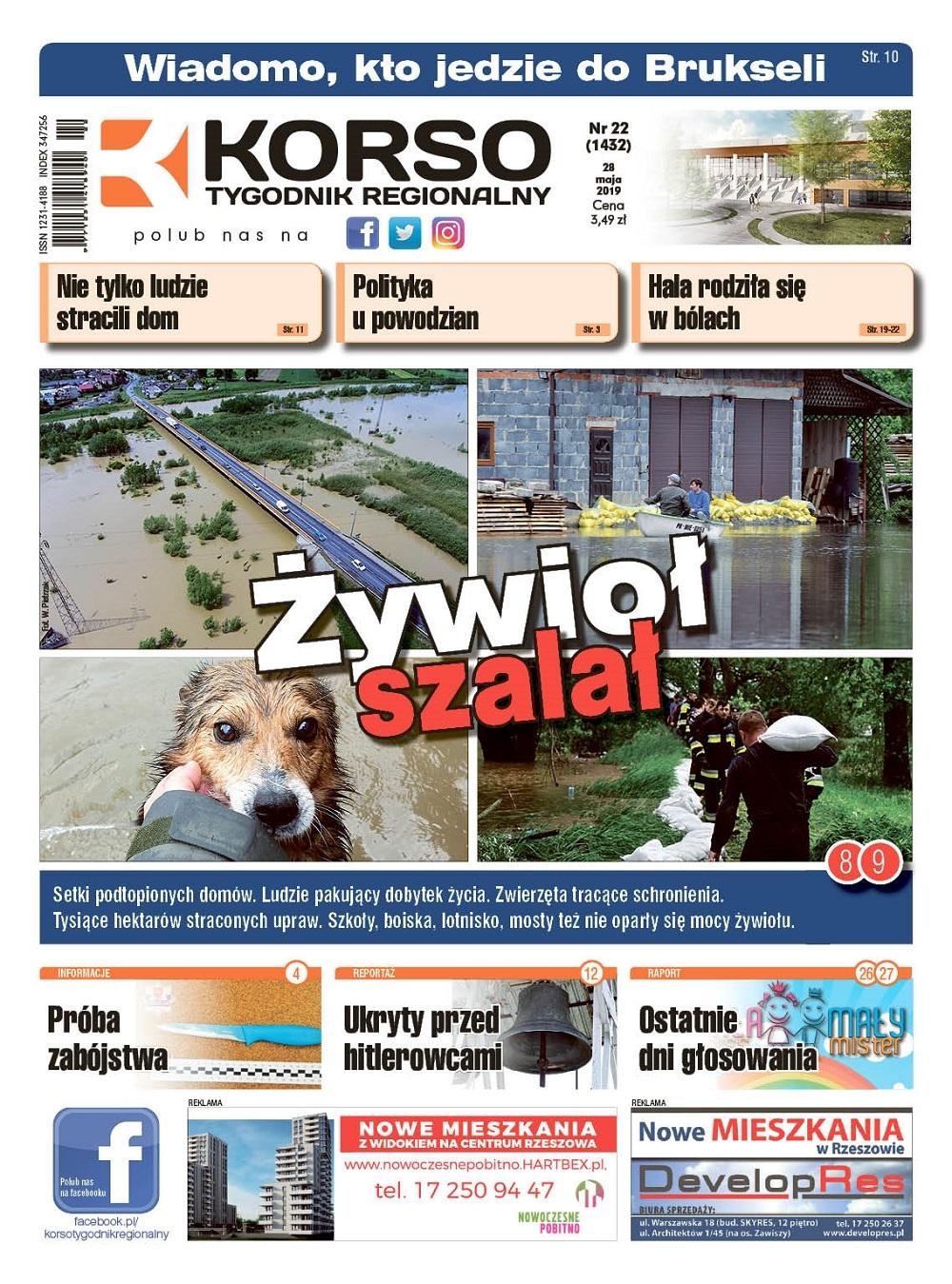 Tygodnik Regionalny Korso nr 22/2019  - Zdjęcie główne