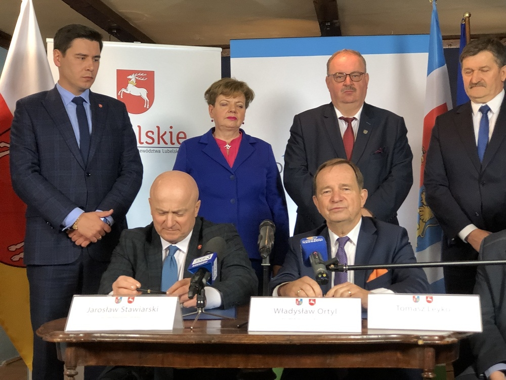 Sojusz Podkarpacia i Lubelszczyzny podpisany. W planie m.in. budowa dróg - Zdjęcie główne