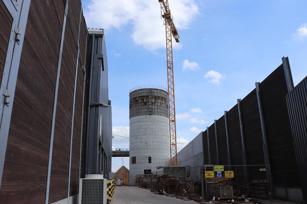 Kronospan buduje silos - Zdjęcie główne