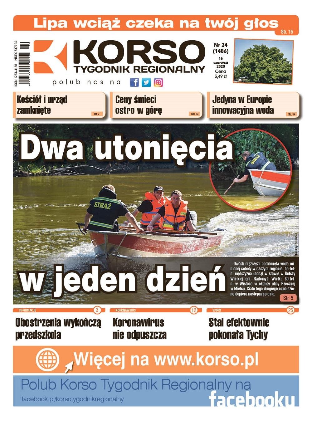 Tygodnik Regionalny KORSO nr 24/2020 - Zdjęcie główne