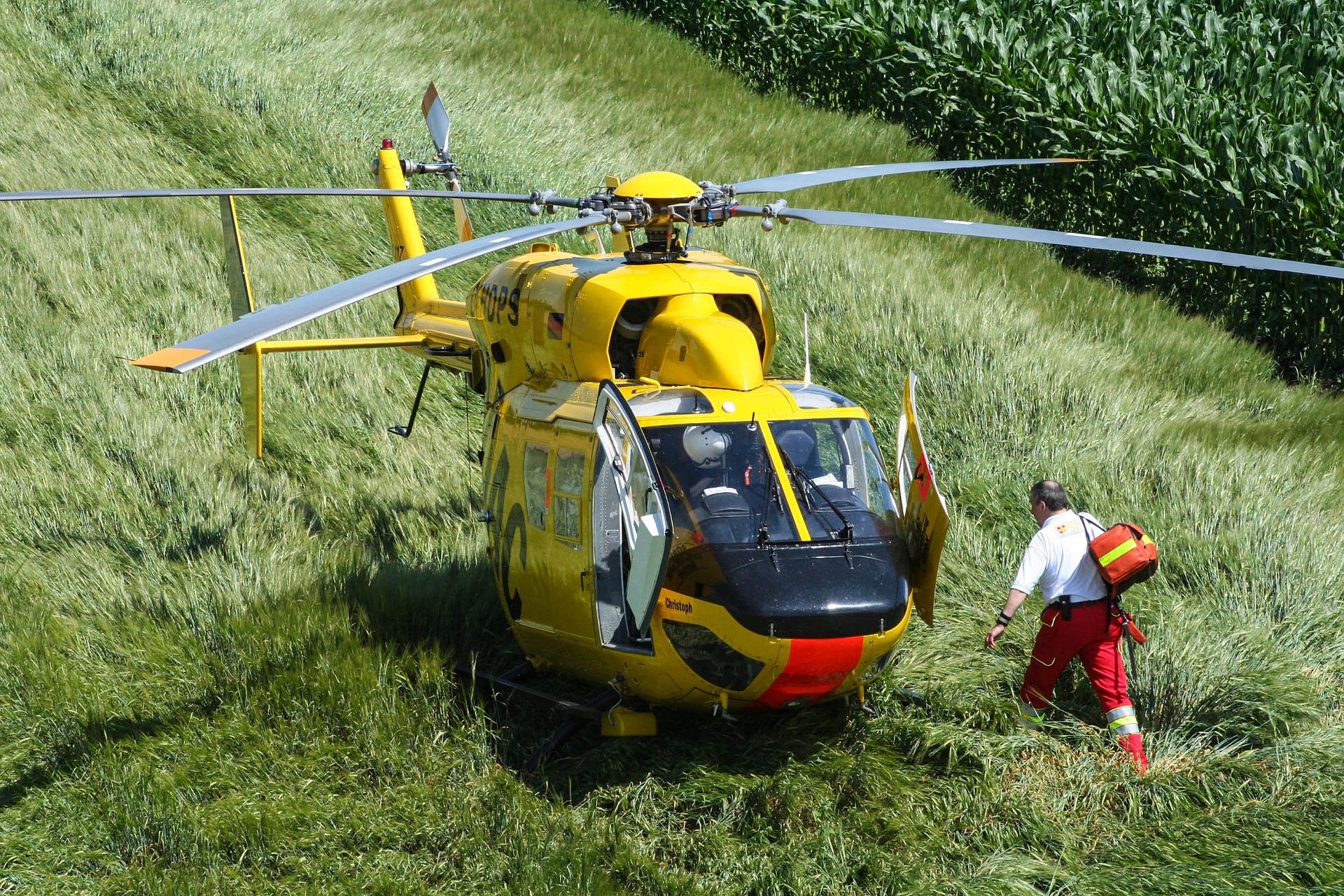 Wypadek w Woli Wadowskiej. Helikopter wezwany do dziecka - Zdjęcie główne