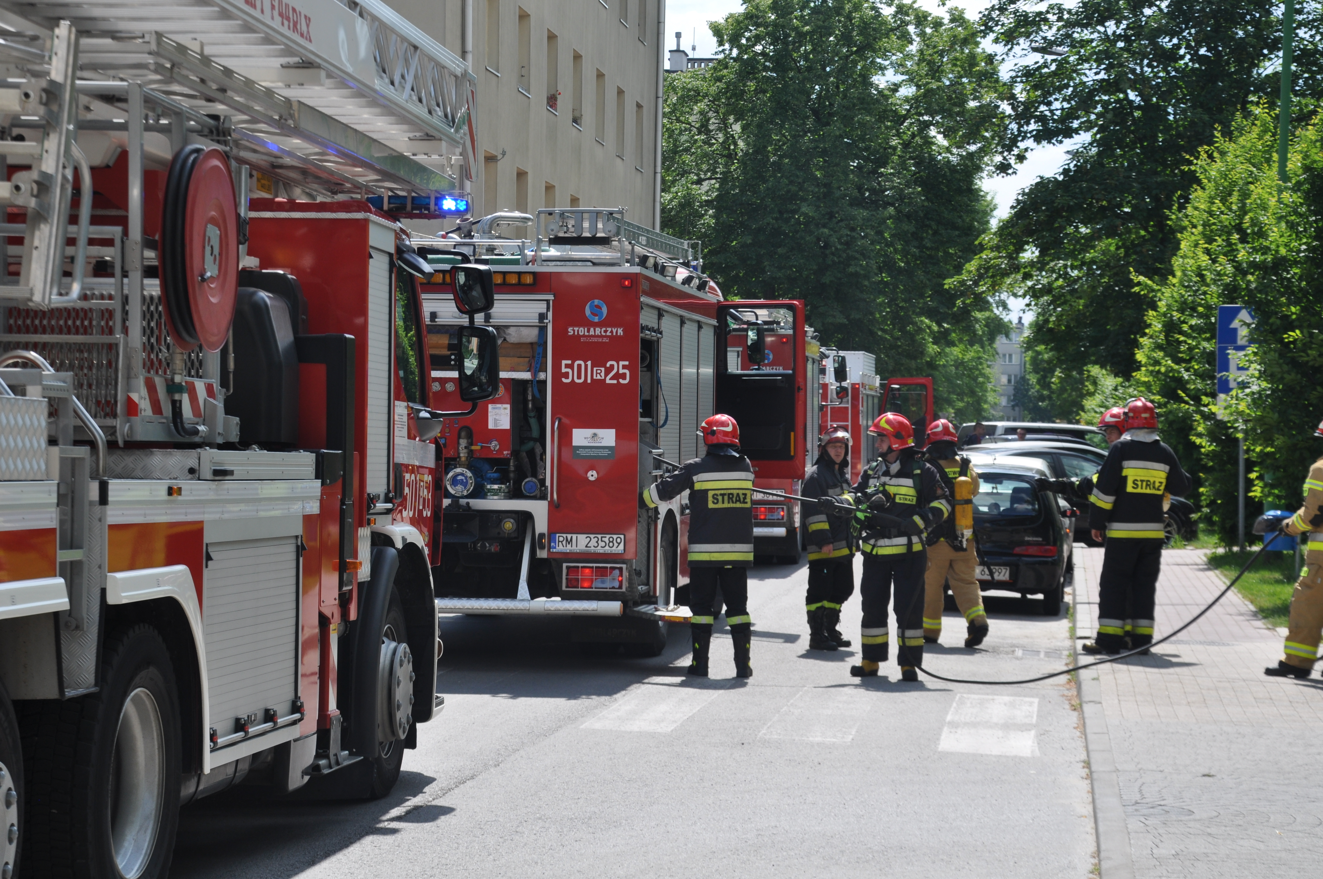 Interwencja Straży Pożarnej w centrum Mielca! [FOTO] - Zdjęcie główne