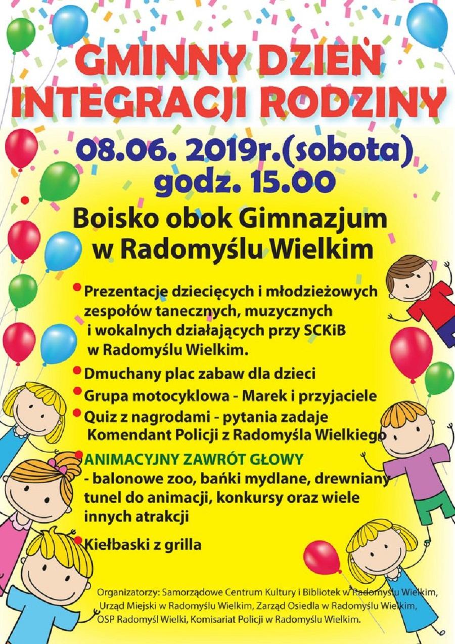 Piknik dla rodzin w Radomyślu - Zdjęcie główne