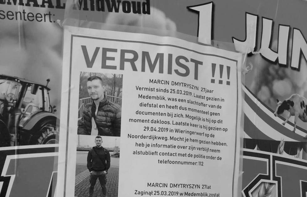 """AFERA! """"Marcin jest w Niemczech, żyje"""" - znaleziono jego ciało w Holandii - Zdjęcie główne"""
