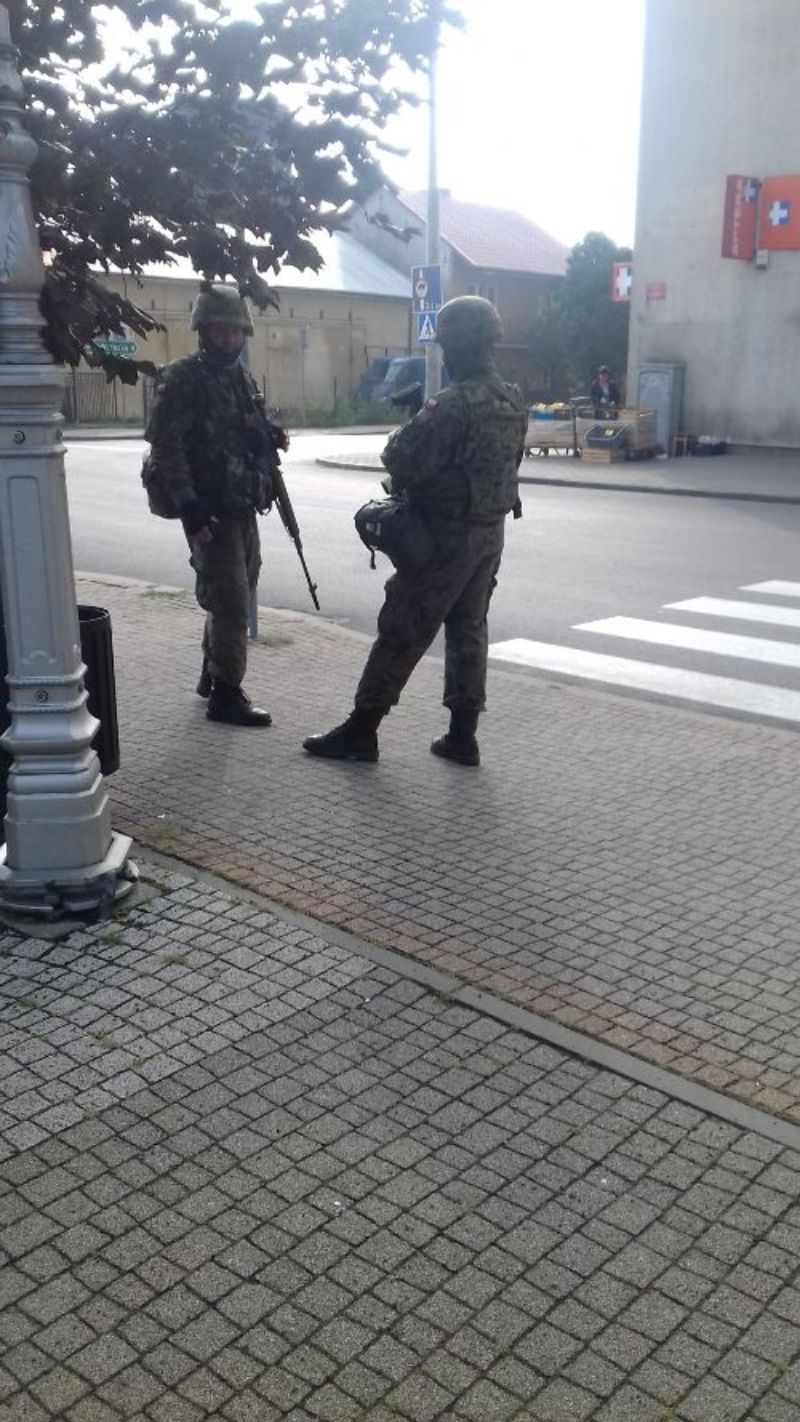 Terytorialsi ćwiczą w Radomyślu [FOTO] - Zdjęcie główne