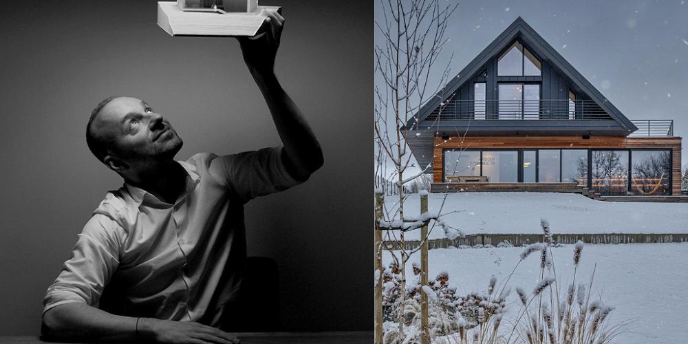 Kim jest autor najpiękniejszego domu na świecie? Bogusław Barnaś pochodzi z...Mielca - Zdjęcie główne