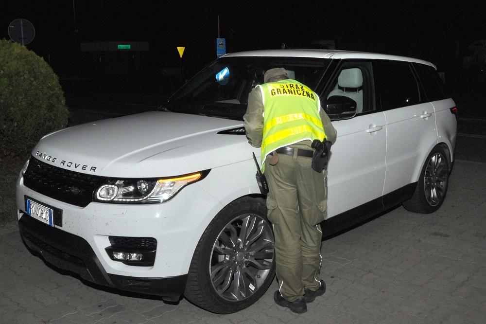 Chciał wywieźć skradzione luksusowe auto za granicę - Zdjęcie główne