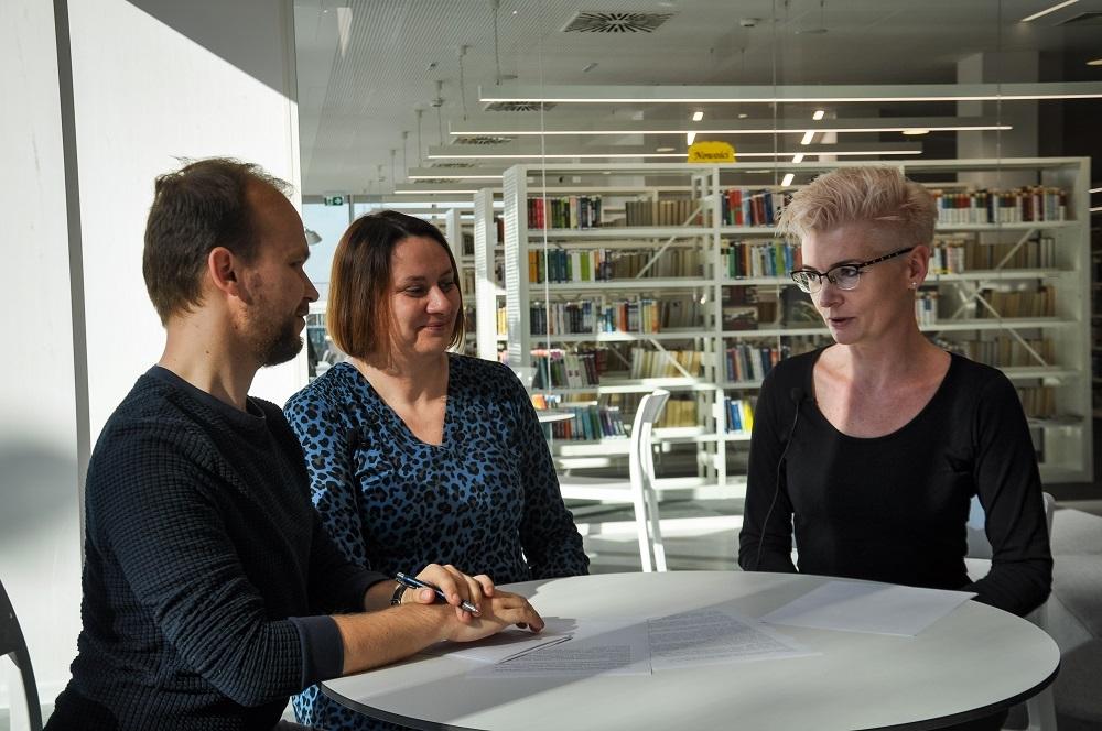 Rozmowy z Korso - otwarcie mieleckiej biblioteki - Zdjęcie główne