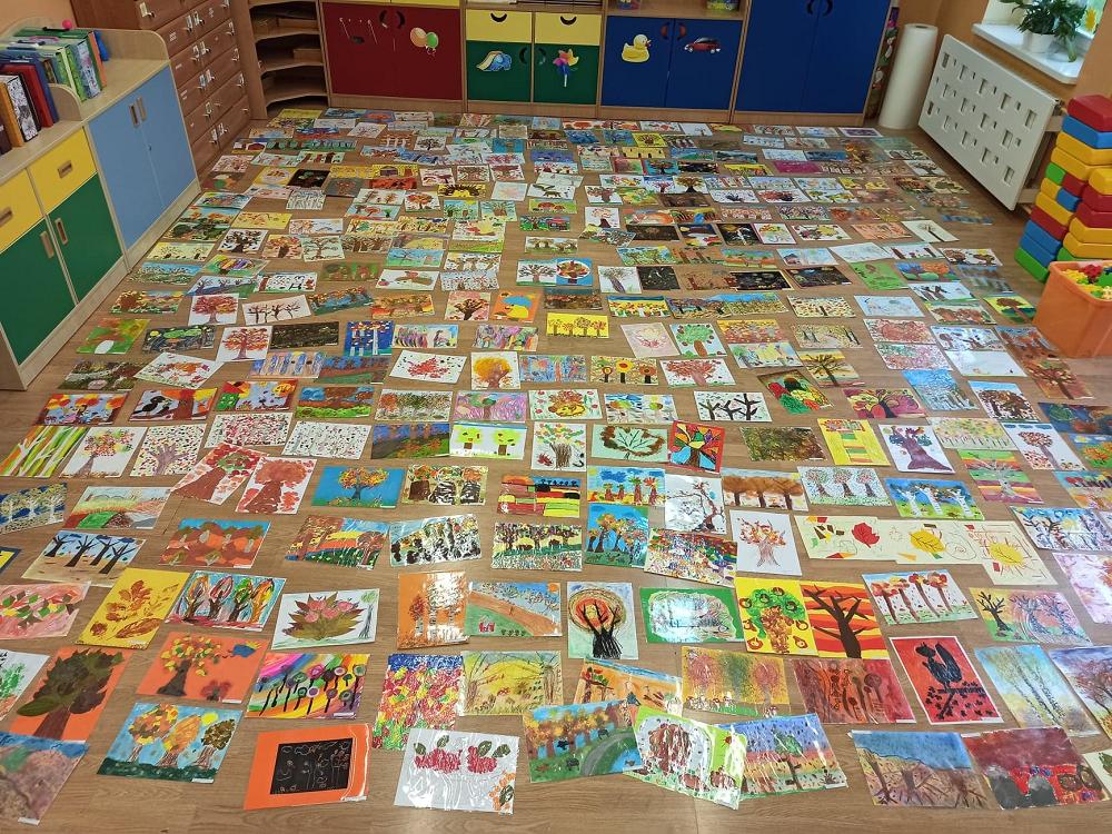 Pomysł nauczycielek jednego z przedszkoli.  Konkurs plastyczny, na który wpłynęło 665 prac z całej Polski - Zdjęcie główne