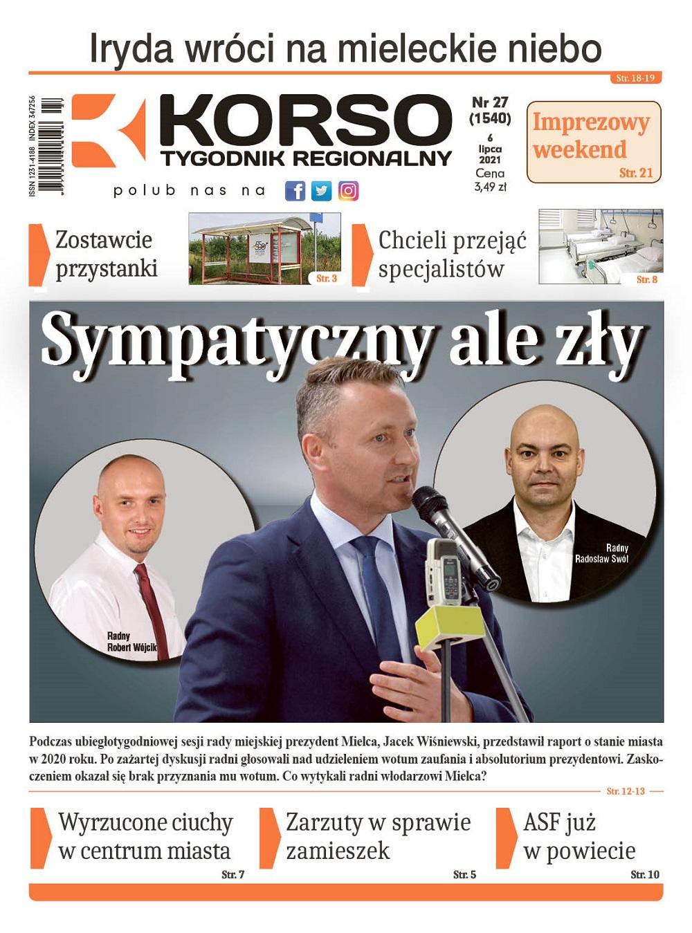 Tygodnik Regionalny KORSO nr 27/2021 - Zdjęcie główne