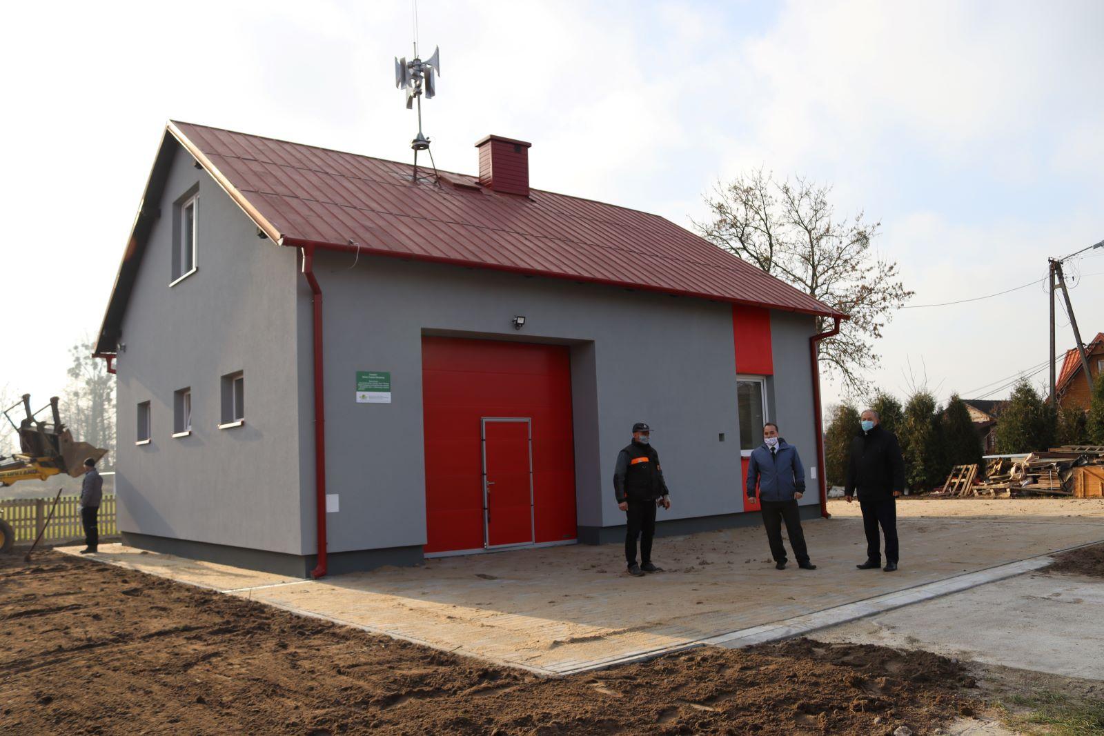 Kompleksowe docieplenie Domu Strażaka w Maliniu I  - Zdjęcie główne