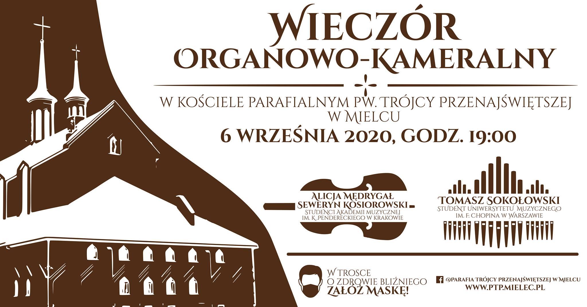 Już w niedzielę wieczór organowo - kameralny w kościele na Smoczce - Zdjęcie główne