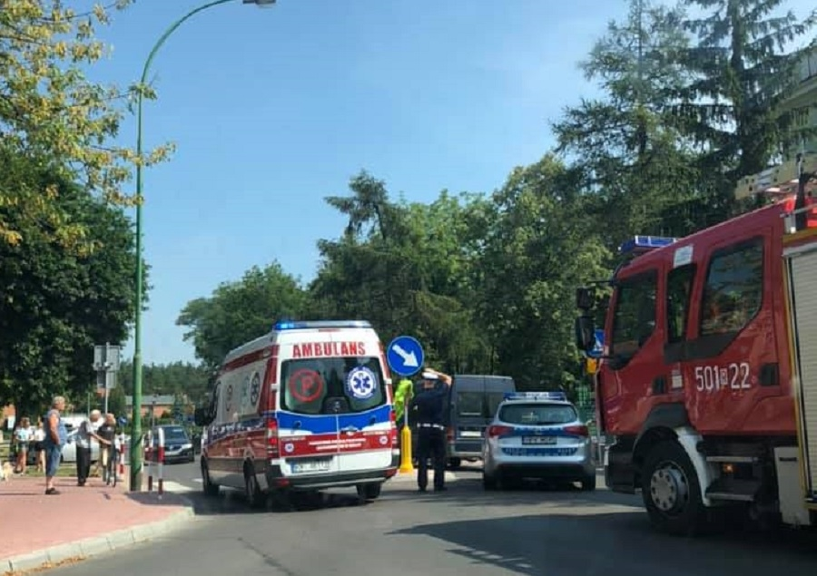 Potrącenie rowerzysty w centrum Mielca! - Zdjęcie główne
