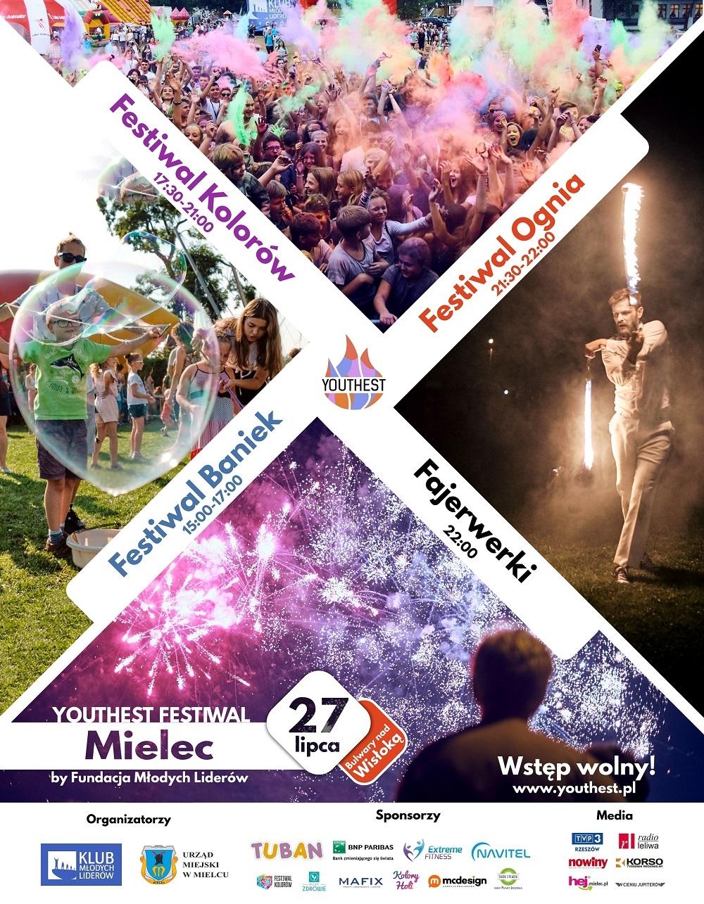Festiwal Youthest w Mielcu już w ten weekend!  - Zdjęcie główne