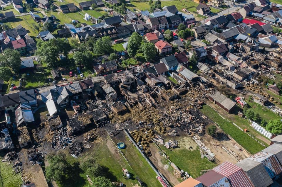 Kolejne duże wsparcie dla pogorzelców z wsi Nowa Biała  - Zdjęcie główne
