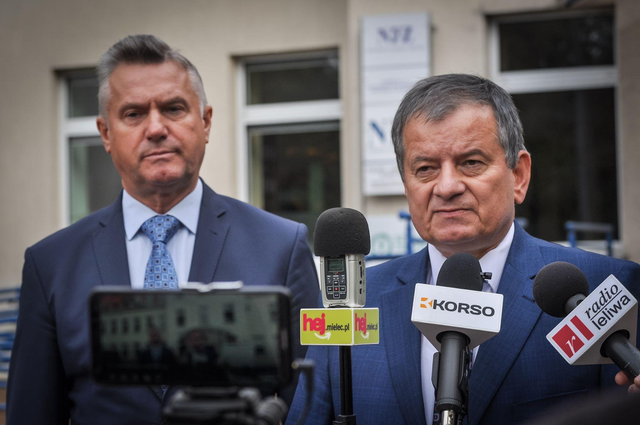 Liderzy PSL w Mielcu : Mają receptę na zdrowie [VIDEO] - Zdjęcie główne