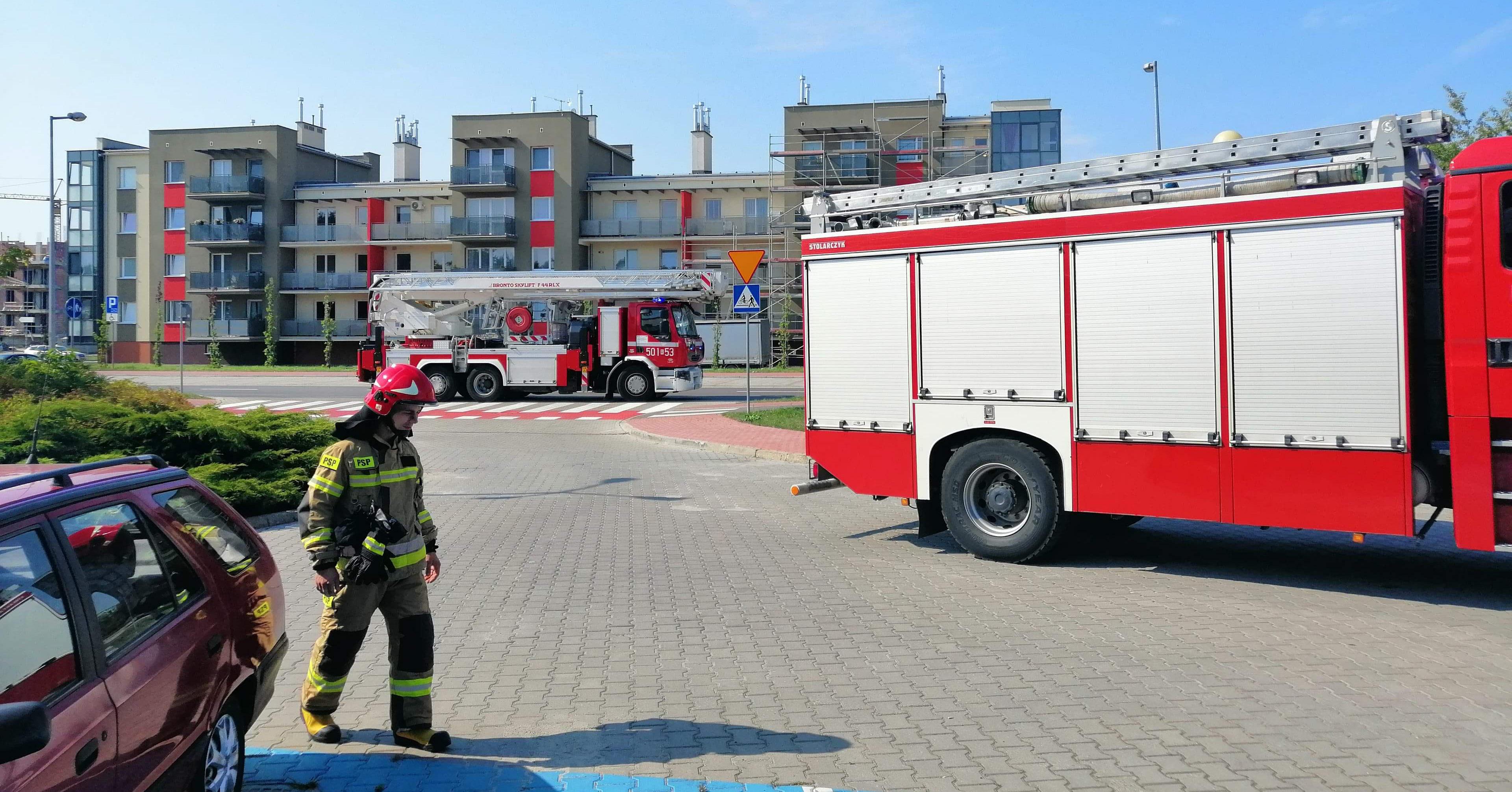 Alarm pożarowy w mieleckim DPS! - Zdjęcie główne