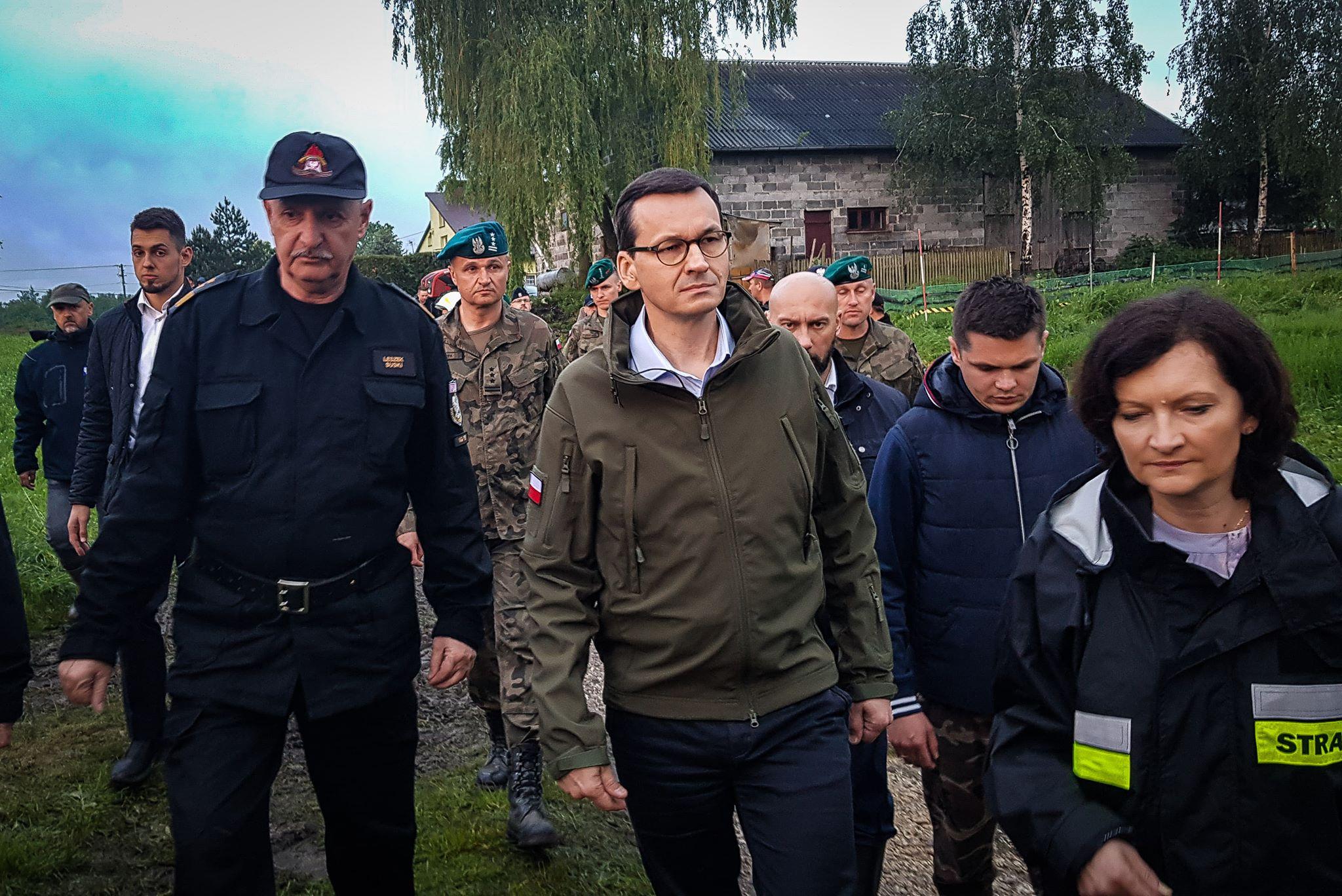 Premier Mateusz Morawiecki w gminie Wadowice Górne [NOWE FOTO] - Zdjęcie główne