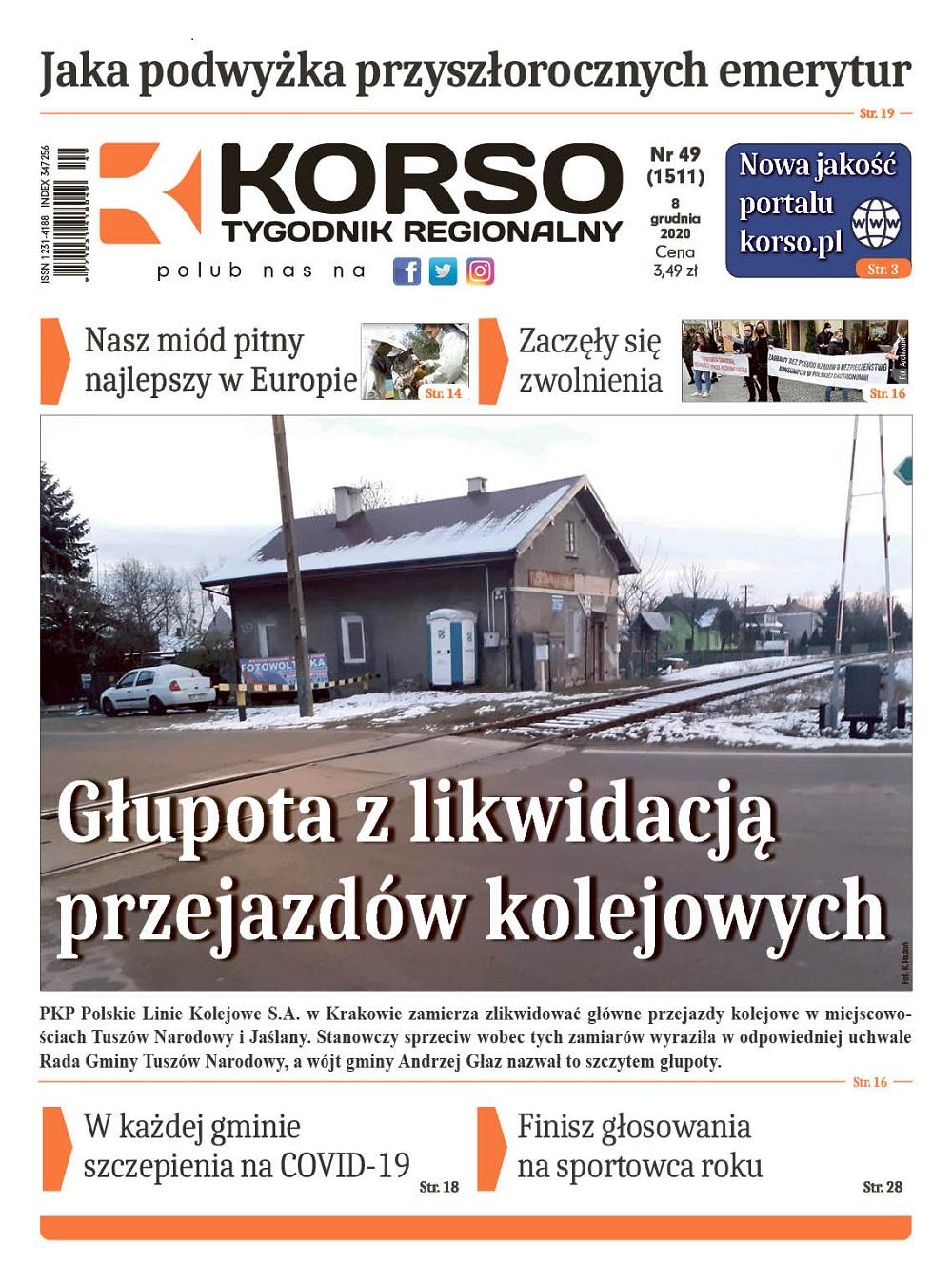Tygodnik Regionalny KORSO nr 49/2020 - Zdjęcie główne