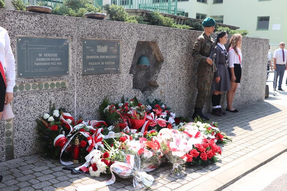 Mielczanie pamiętali o 80. rocznicy wybuchu II wojny światowej [FOTO] - Zdjęcie główne