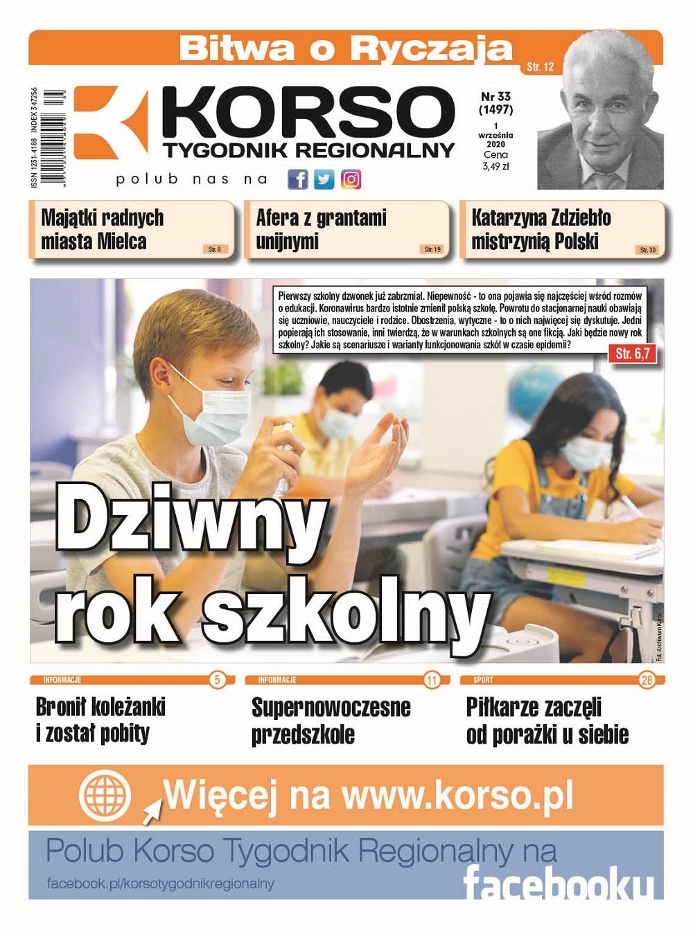 Tygodnik Regionalny KORSO nr 35/2020 - Zdjęcie główne