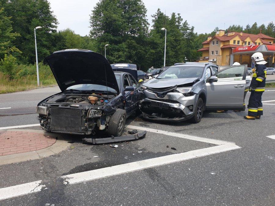 Z PODKARPACIA. Kierowca uciekł z miejsca wypadku. Zaraz powrócił  - Zdjęcie główne