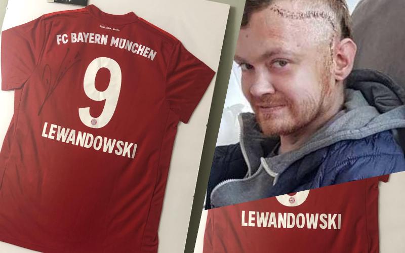 Robert Lewandowski wspiera Kubę z Mielca! Trwa licytacja koszulki Lewandowskiego - Zdjęcie główne
