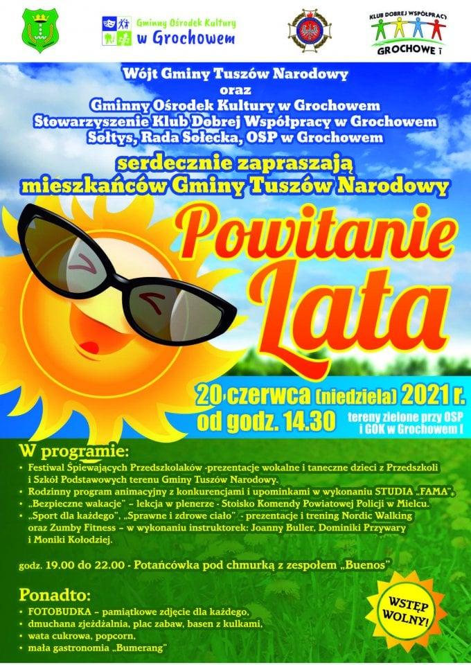 """""""Powitanie Lata"""" w gminie Tuszów Narodowy. Mnóstwo występów i atrakcje dla najmłodszych - Zdjęcie główne"""