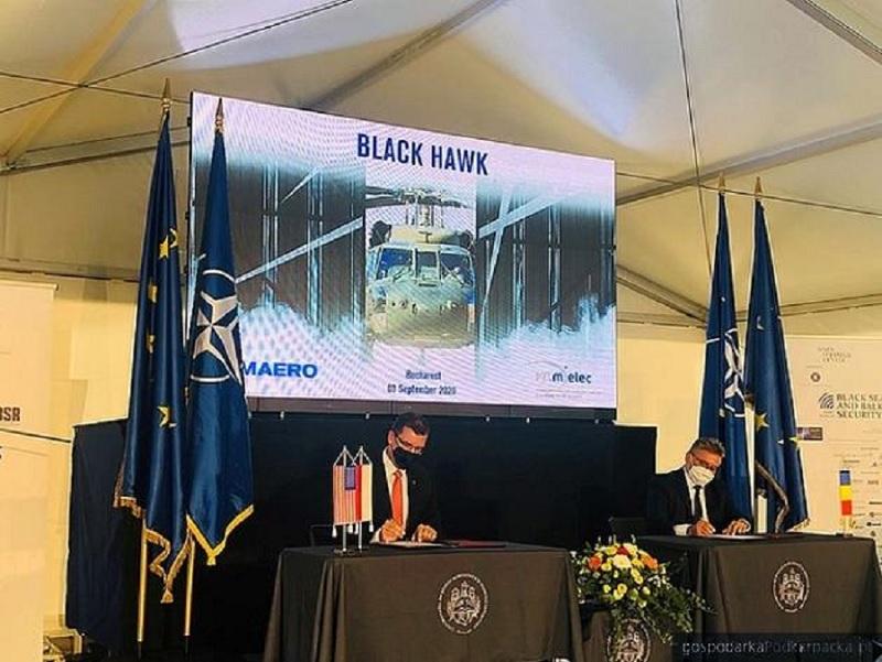 PZL Mielec chce wyprodukować Black Hawki dla Rumunów. Podpisano porozumienie o powstaniu centrum serwisowania i naprawy - Zdjęcie główne