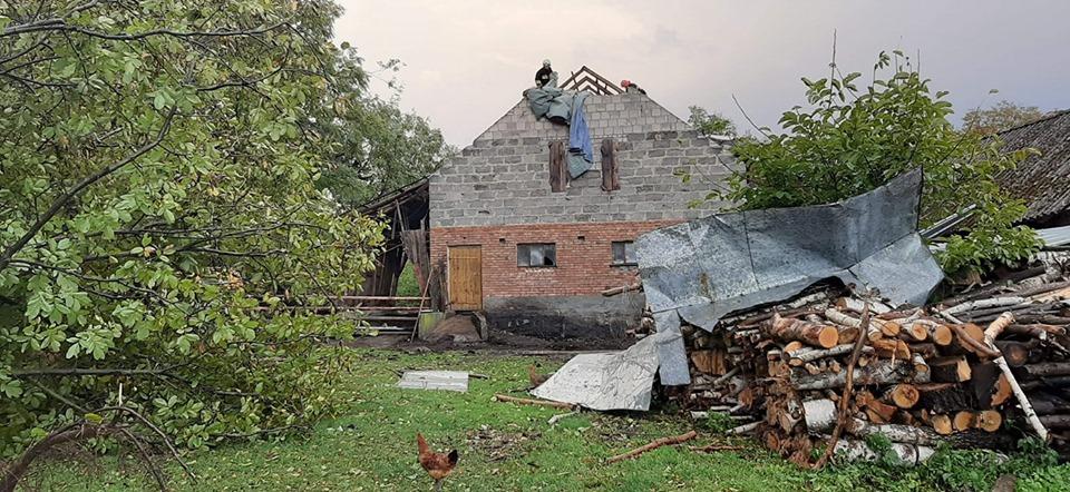 W regionie latały dachy - Zdjęcie główne
