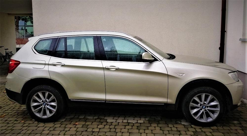 Skradzionym BMW przez granicę - Zdjęcie główne