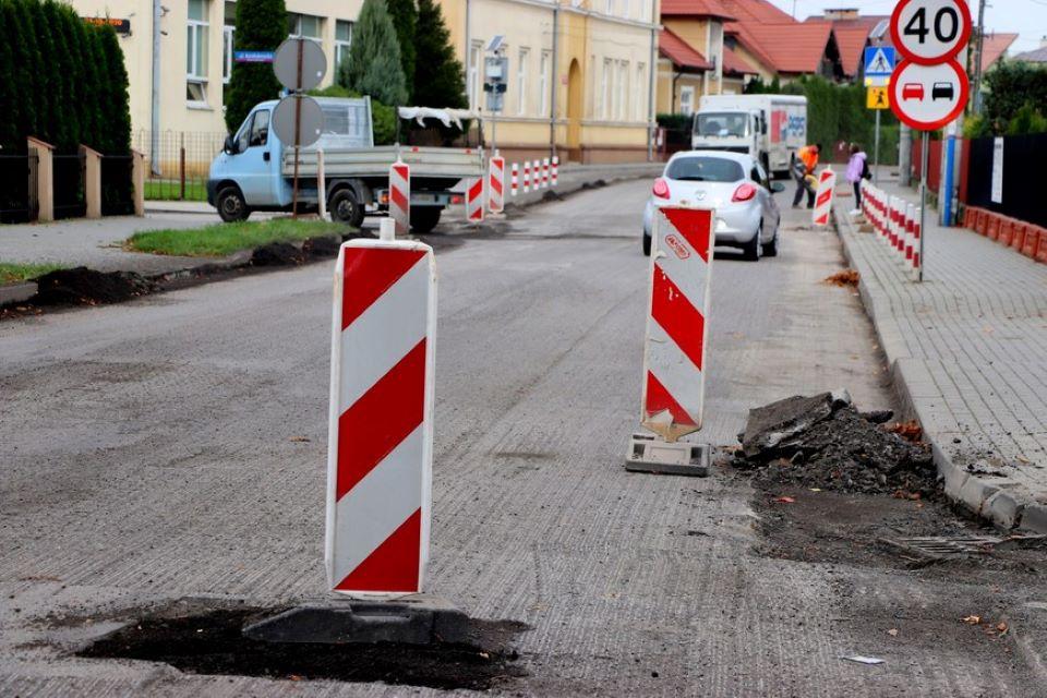 Utrudnienia na ulicy Kilińskiego. Dalszy ciąg remontu [FOTO] - Zdjęcie główne