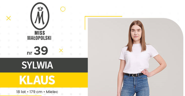 Mielczanka Sylwia Klaus walczy o tytuł Miss - Zdjęcie główne