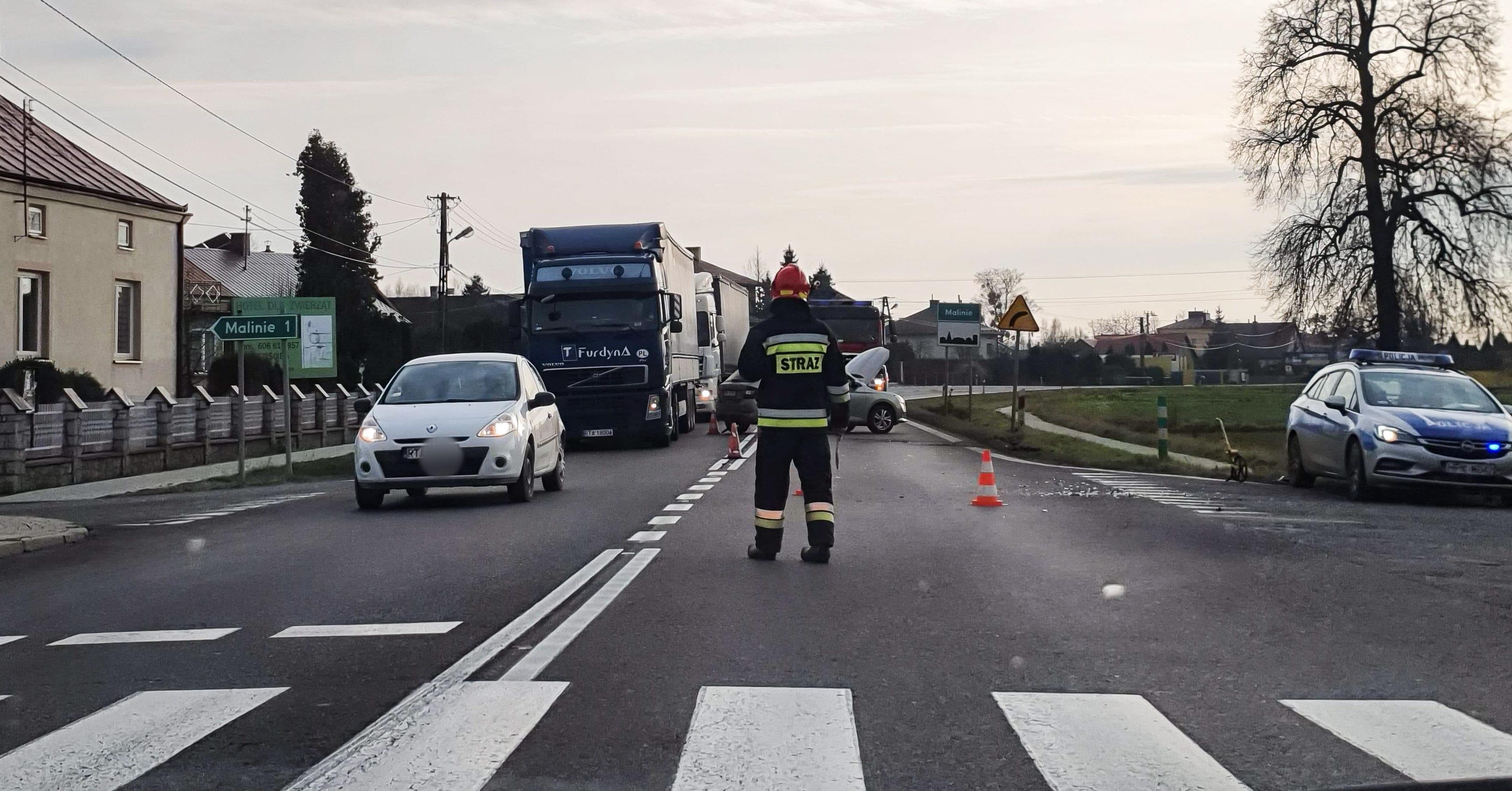 Utrudnienia na drodze Mielec - Tarnobrzeg! [FOTO, VIDEO] - Zdjęcie główne