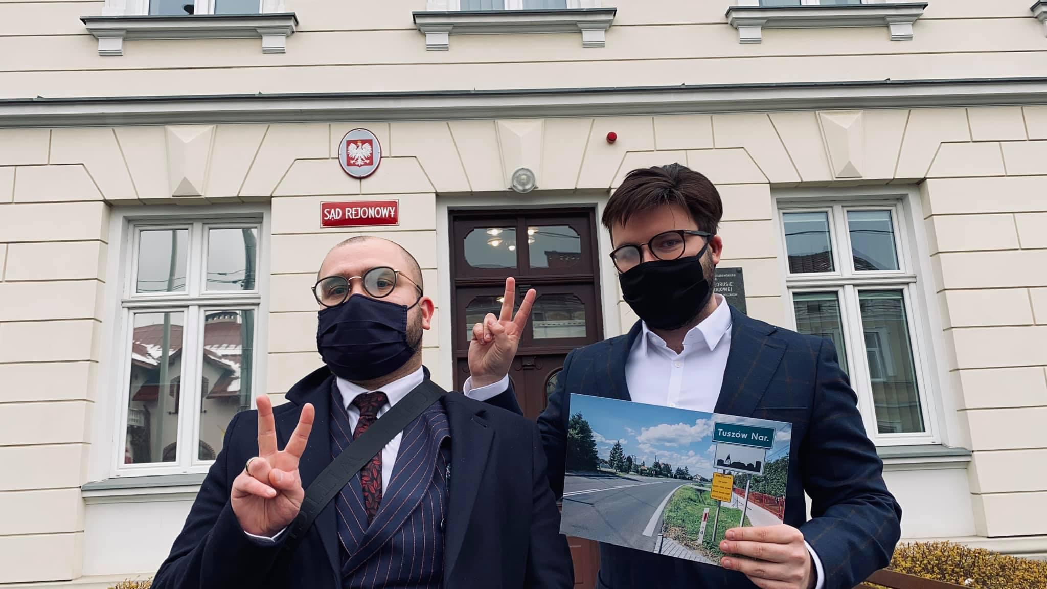 Sąd Rejonowy w Mielcu: Bart Staszewski niewinny - Zdjęcie główne