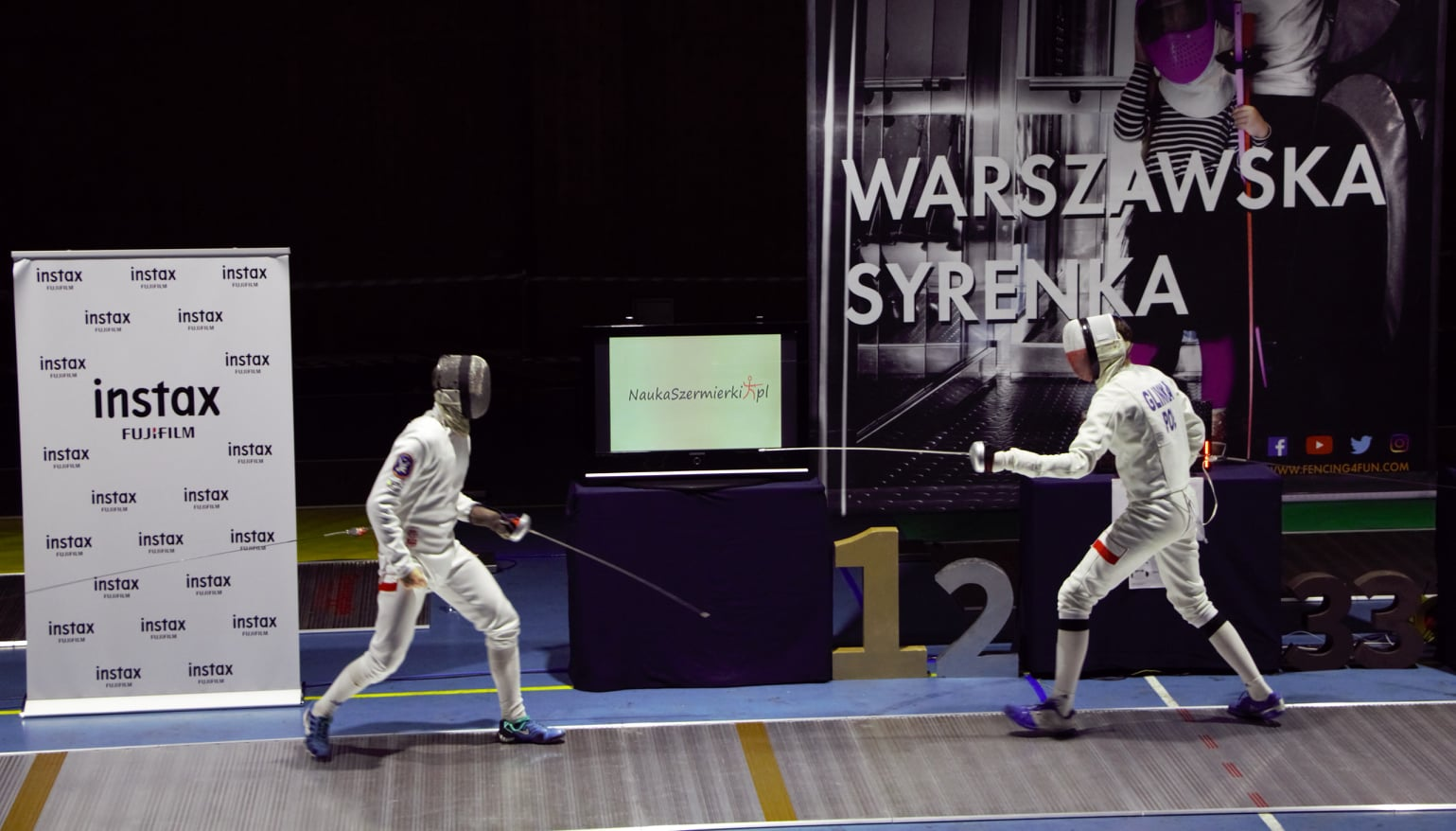 Stanisław Dziura mistrzem IX Turnieju Szermierzy w Warszawie - Zdjęcie główne